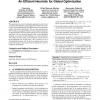 Adaptive evolution: an efficient heuristic for global optimization