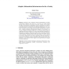 Adaptive Information Infrastructures for the e-Society