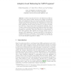 Adaptive Load Balancing for MPI Programs