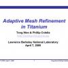 Adaptive Mesh Refinement in Titanium