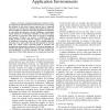 Addressing network heterogeneity in pervasive application environments