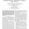 Admission Control and Channel Allocation for Supporting Real-Time Applications in Cognitive Radio Networks