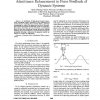 Admittance Enhancement in Force Feedback of Dynamic Systems
