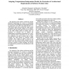 Adopting Computational Independent Models for Derivation of Architectural Requirements of Software Product Lines