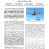 Aerodynamics and control of autonomous quadrotor helicopters in aggressive maneuvering