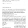 Affective e-Learning in residential and pervasive computing environments