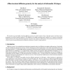 Affine-invariant diffusion geometry for the analysis of deformable 3D shapes
