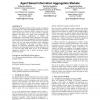 Agent based information aggregation markets