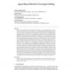 Agent-Based Model of Genotype Editing