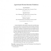 Agent-based protein structure prediction