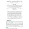 Agent-Based Simulation of Data-Driven Fire Propagation Dynamics