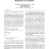 Agent interaction in distributed POMDPs and its implications on complexity