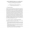 Agents' Bidding Strategies in a Combinatorial Auction Controlled Grid Environment