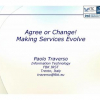 Agree or Change! Making Services Evolve