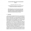 Agreement-Based Interactions for Experimental Science
