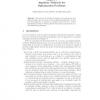 Algebraic Methods for Optimization Problems