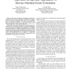 Algorithm design and application of service-oriented event correlation