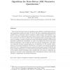 Algorithms for data-driven ASR parameter quantization