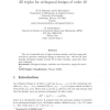 All triples for orthogonal designs of order 40
