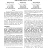 Alleviation of tree saturation in multistage interconnection networks