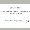An Active Domain Node Architecture for the Semantic Web