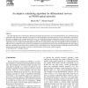 An adaptive scheduling algorithm for differentiated services on WDM optical networks