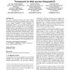 An agent-based decentralised process management framework for web service composition