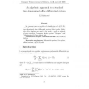 An algebraic approach to a study of two-dimensional affine differential system