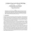 An Algebraic Framework for Physical OODB Design