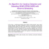An Algorithm for Iterative Detection and Decoding MIMO-OFDM HARQ with Antenna Scheduling