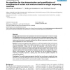 An algorithm for the determination and quantification of components of nucleic acid mixtures based on single sequencing reaction