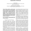 An Application Directed Adaptive Framework for Autonomic Software