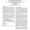 An architecture for flexible, evolvable process-driven user-guidance environments