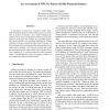 An Assessment of NFC for Future Mobile Payment Systems