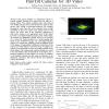 An Assignment Scheme to Control Multiple Pan/Tilt Cameras for 3D Video