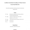 An Effective Cache-Index Forwarding over Wireless Network for the World-Wide Web