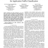 An effective similarity metric for application traffic classification