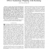 An efficient algorithm for performance-optimal FPGA technology mapping with retiming
