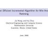 An efficient incremental algorithm for min-area retiming