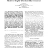 An Efficient Role Specification Management Model for Highly Distributed Environments