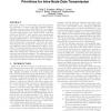 An empirical comparison of Java remote communication primitives for intra-node data transmission
