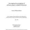An Empirical Investigation Of Software Project Schedule Behaviour