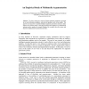 An Empirical Study of Multimedia Argumentation