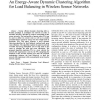 An Energy-Aware Dynamic Clustering Algorithm for Load Balancing in Wireless Sensor Networks