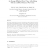 An energy-efficient real-time scheduling scheme on dual-channel networks