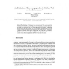 An Evaluation of Discovery approaches in Grid and Web services Environments