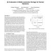 An evaluation of multi-resolution storage for sensor networks