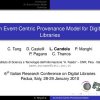 An Event-Centric Provenance Model for Digital Libraries