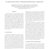 An experimental study of optimizing bioinformatics applications