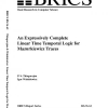An Expressively Complete Linear Time Temporal Logic for Mazurkiewicz Traces